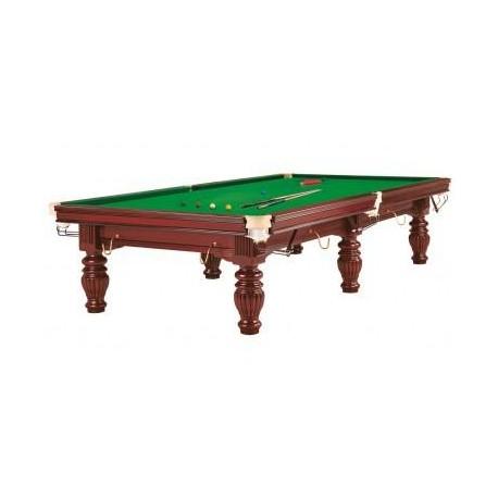 Snooker Prince 10 Ft Acajou