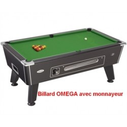 Billard Omega avec monnayeur