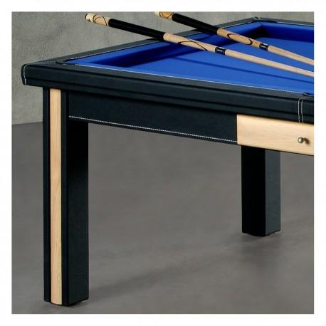 Un billard table de couleur NOIRE Billard-paris