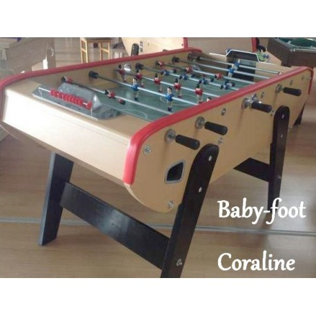 le baby-foot Coraline à bas prix